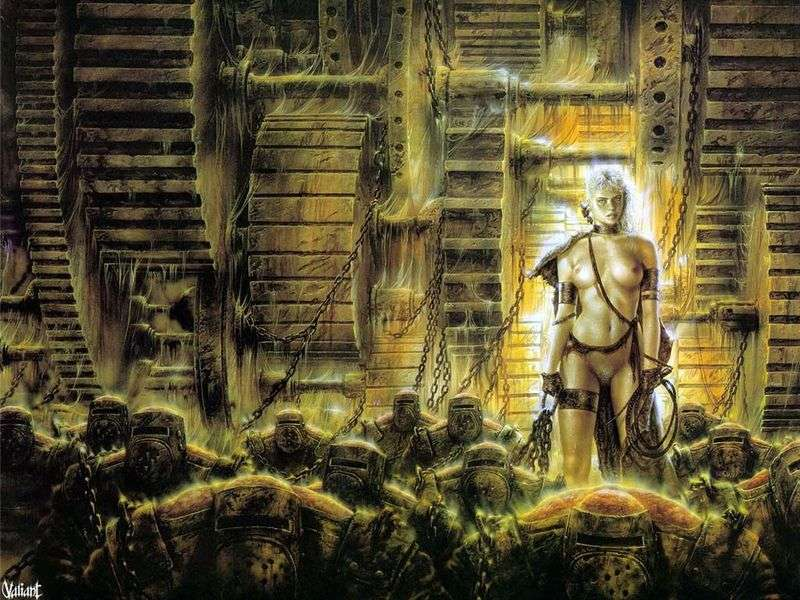 The Wheel of Time by Luis Royo