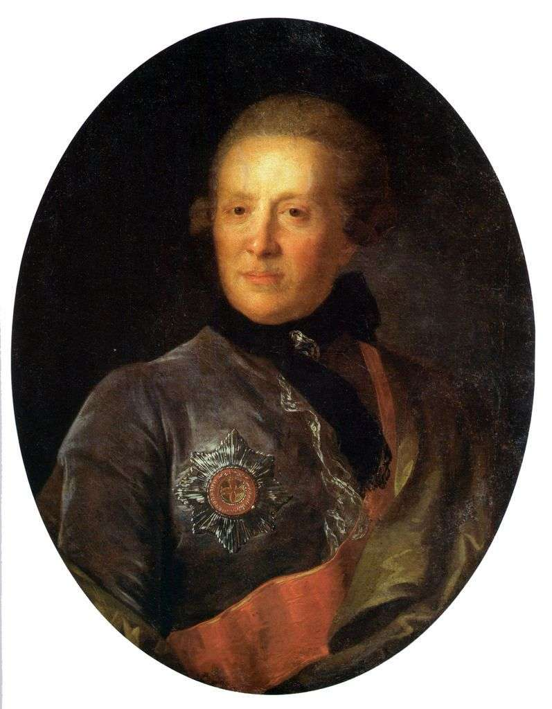 Portrait of A. P. Sumarokov by Fedor Rokotov