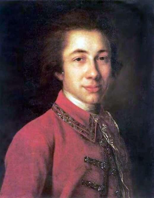 Portrait of I. B. Kurakin by Fedor Rokotov