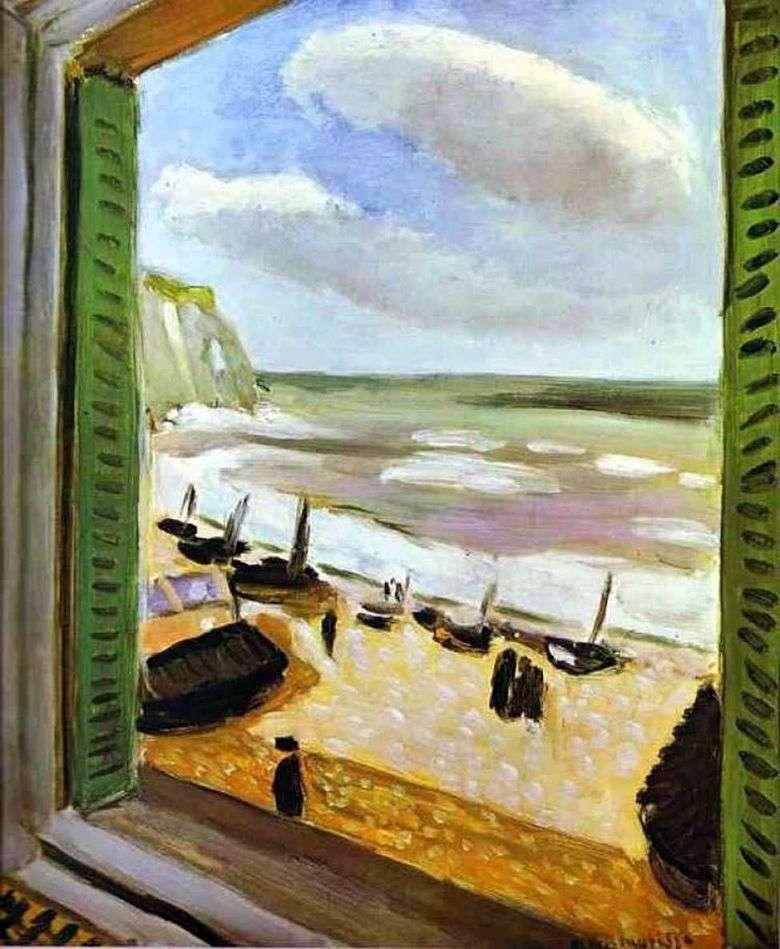 Abrir ventana en Collioure   Henri Matisse