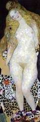Adán y Eva   Gustav Klimt