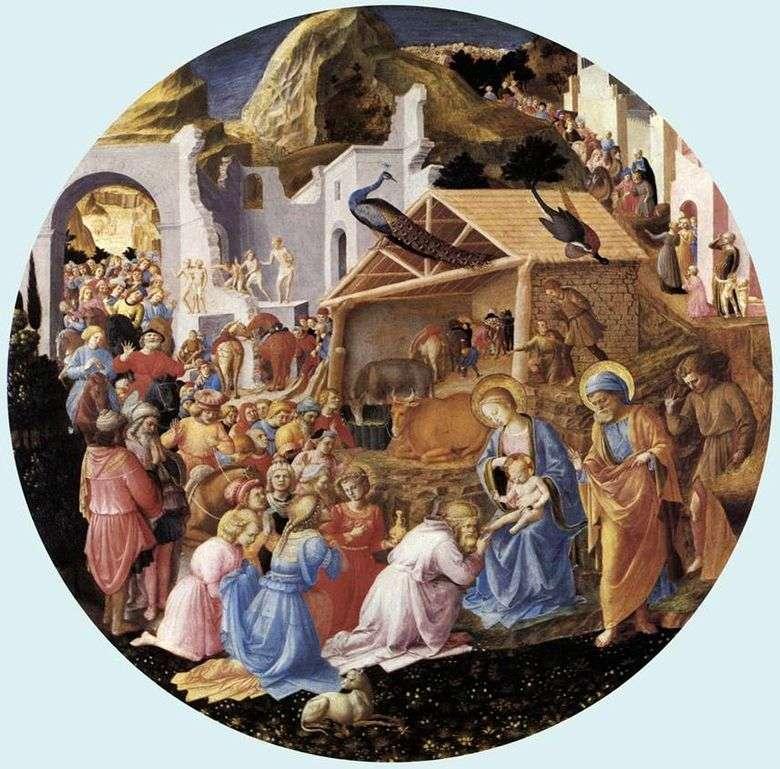 Adoración de los magos   Angelico Fra