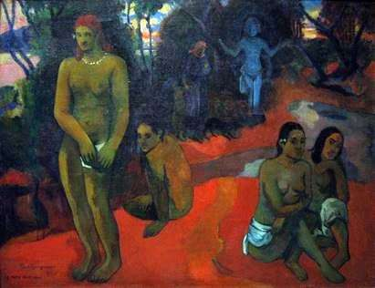 Aguas seductoras   Paul Gauguin
