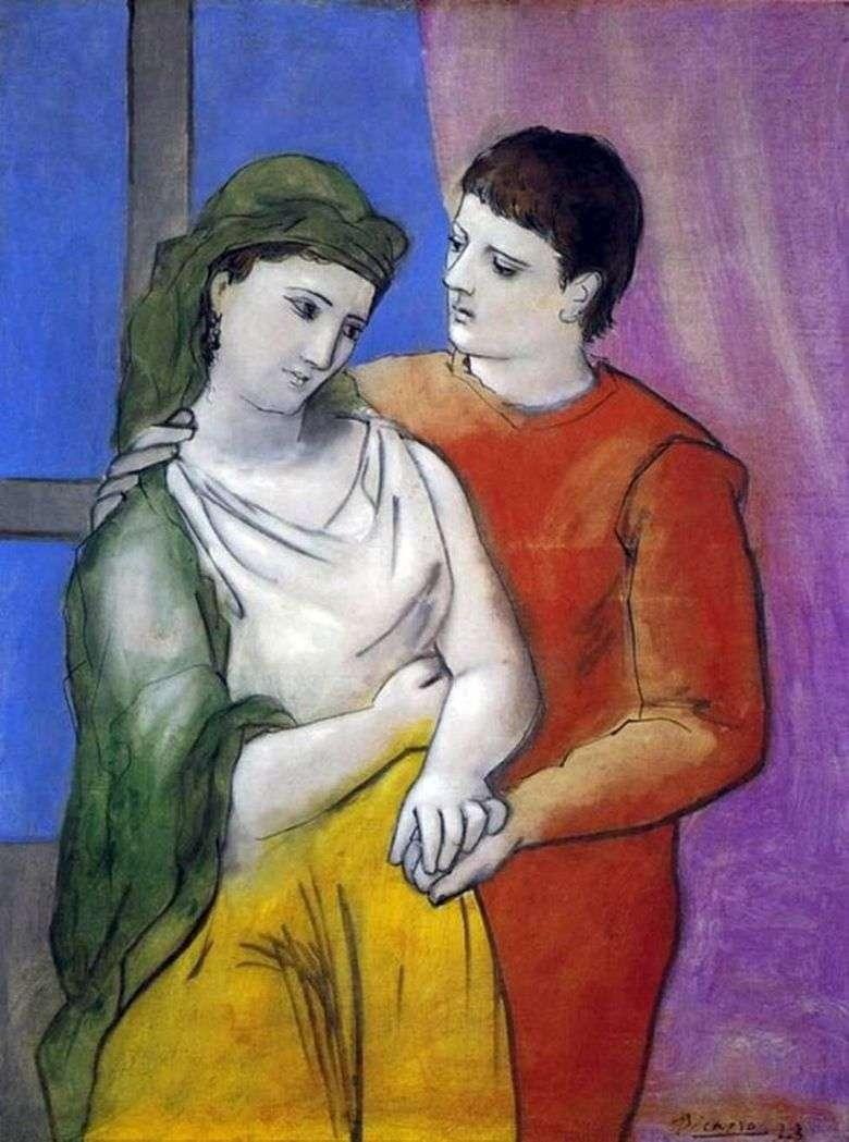 Amantes   Pablo Picasso