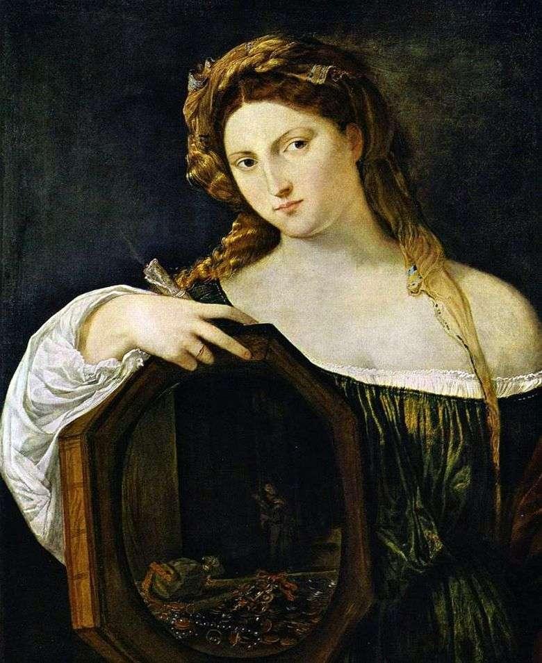 Amor secular   Titian Vecellio