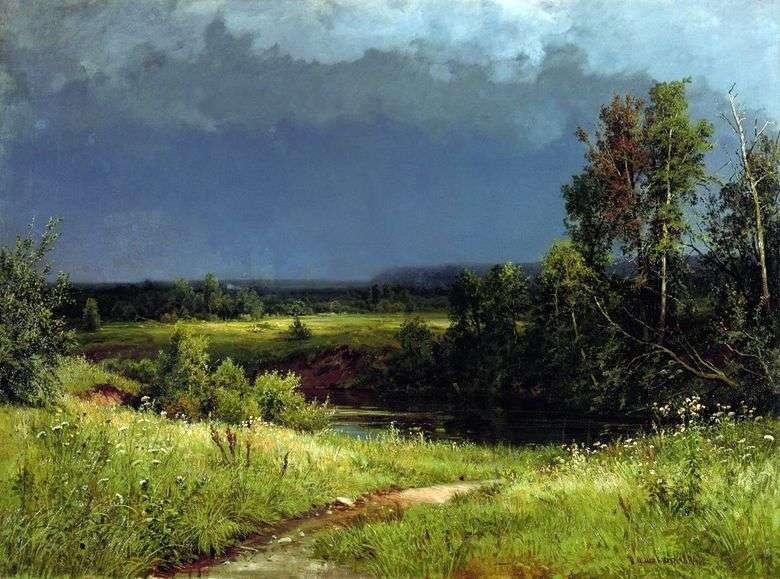 Antes de la tormenta   Ivan Shishkin