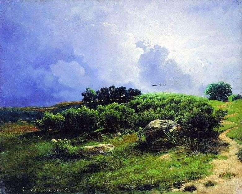 Antes de una tormenta eléctrica   Fedor Vasilyev