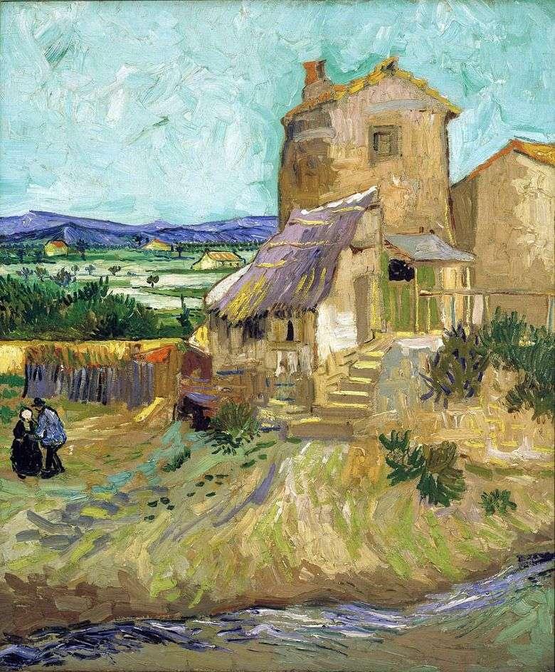 Antiguo molino   Vincent van Gogh