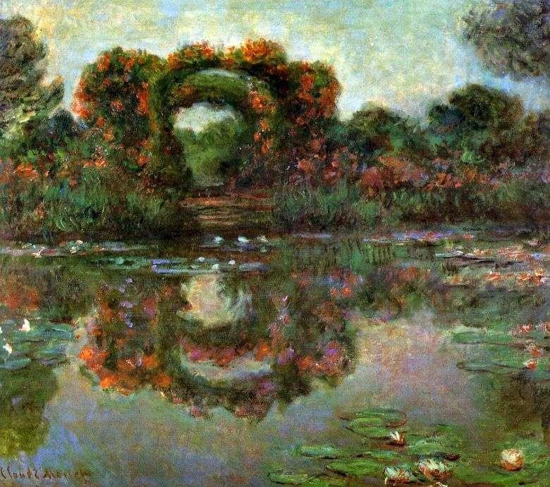 Arco en flores, Giverny   Claude Monet