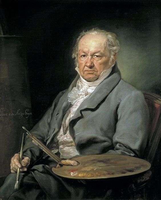 Artista Francisco Goya   Lopez Porthan