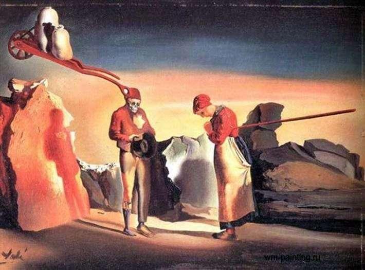 Atavismo Crepuscular   Salvador Dali