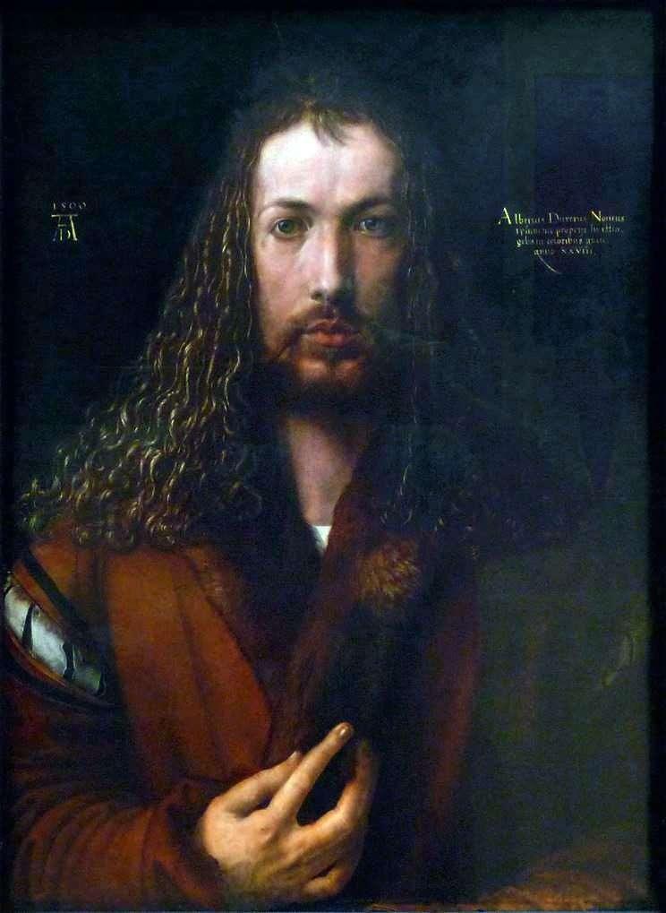 Autorretrato (1500 años)   Albrecht Durer