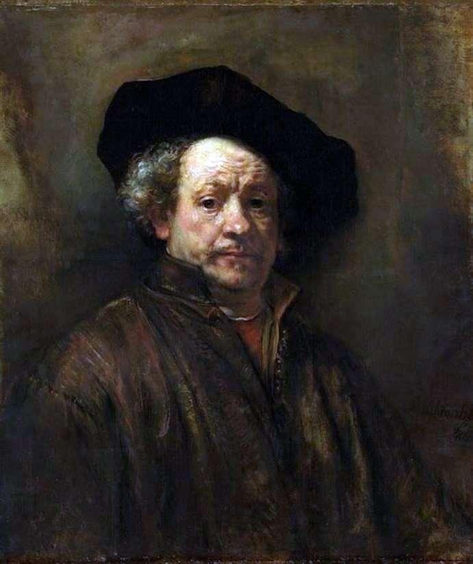 Autorretrato a la edad de 54 años   Rembrandt Harmens Van Rhine