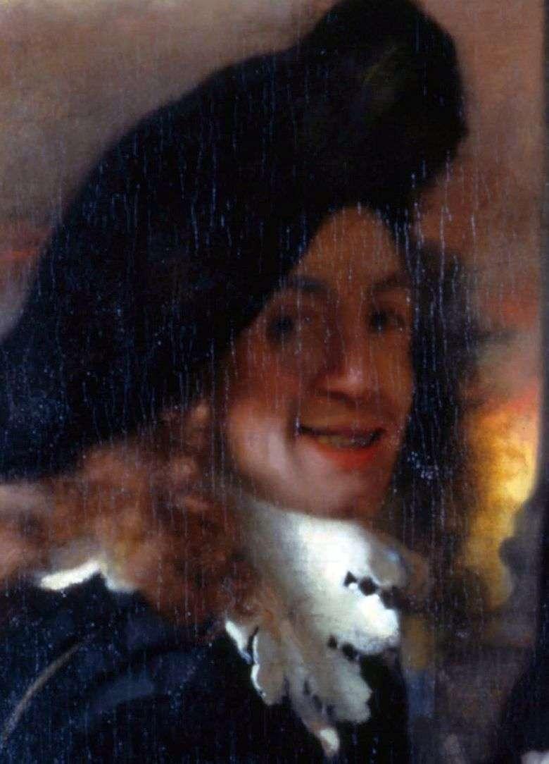 Autorretrato   Jan Vermeer