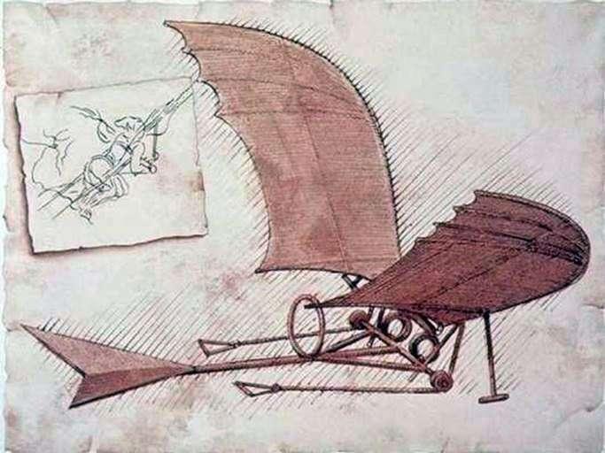 Avión   Leonardo da Vinci