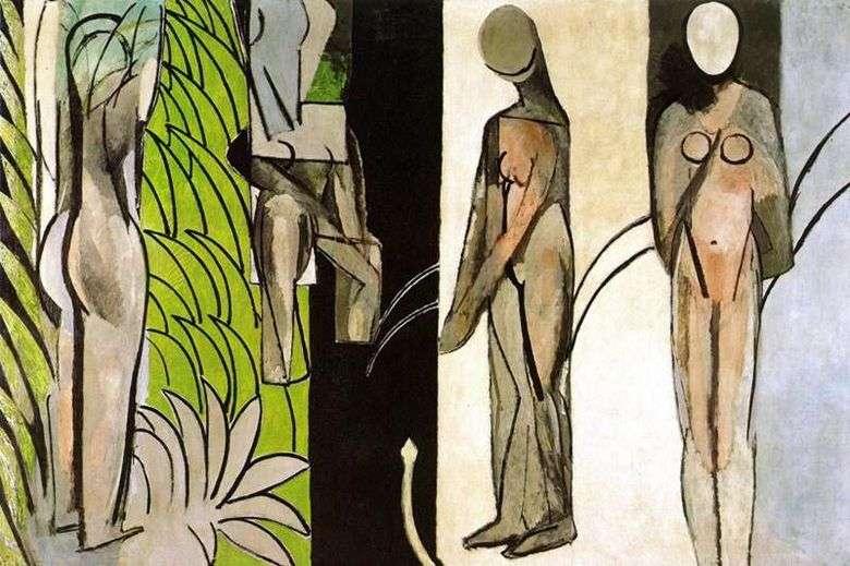 Bañistas en el río   Henri Matisse