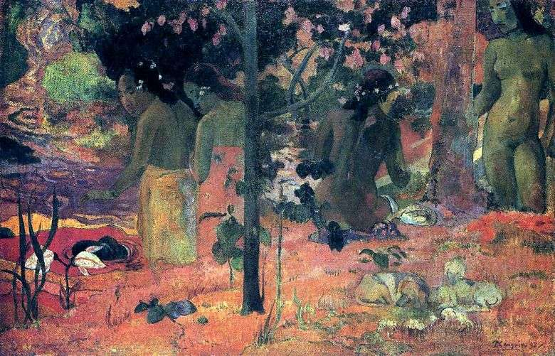 Bañistas   Paul Gauguin
