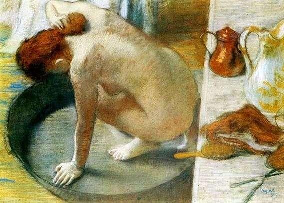 Baño Taz – Edgar Degas