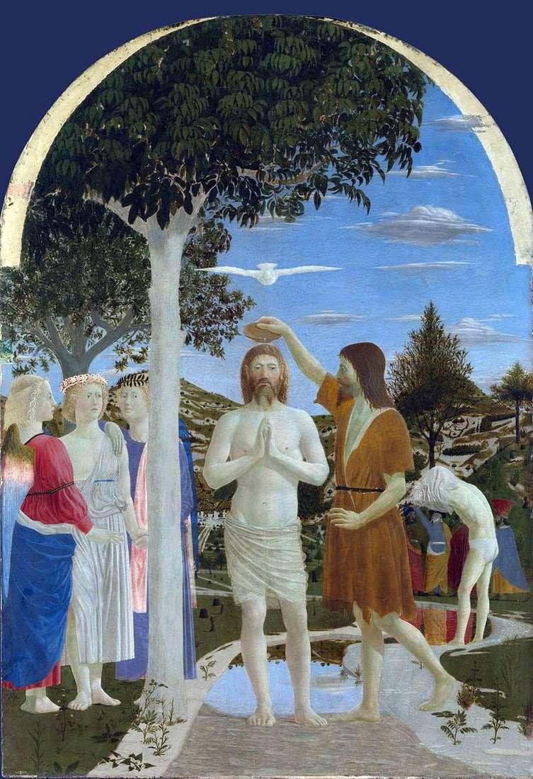 Bautismo de Cristo   Piero della Francesca