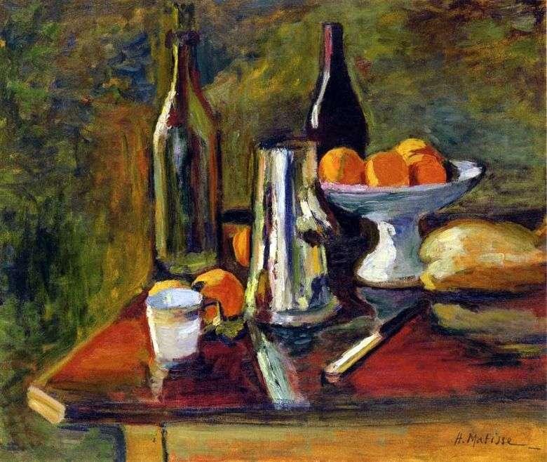 Bodegón con naranjas   Henri Matisse