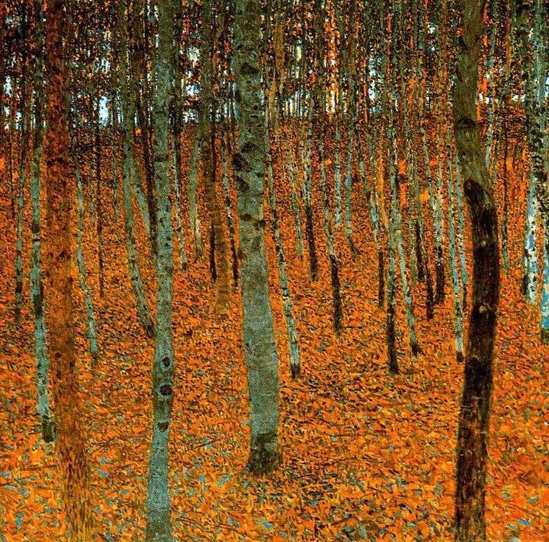 Bosque de abedul   Gustav Klimt