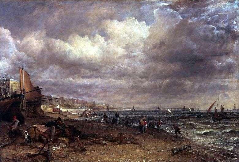 Brighton Pier en John Constable