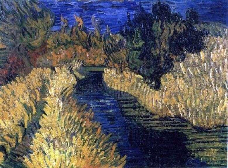 Brook   Vincent Van Gogh