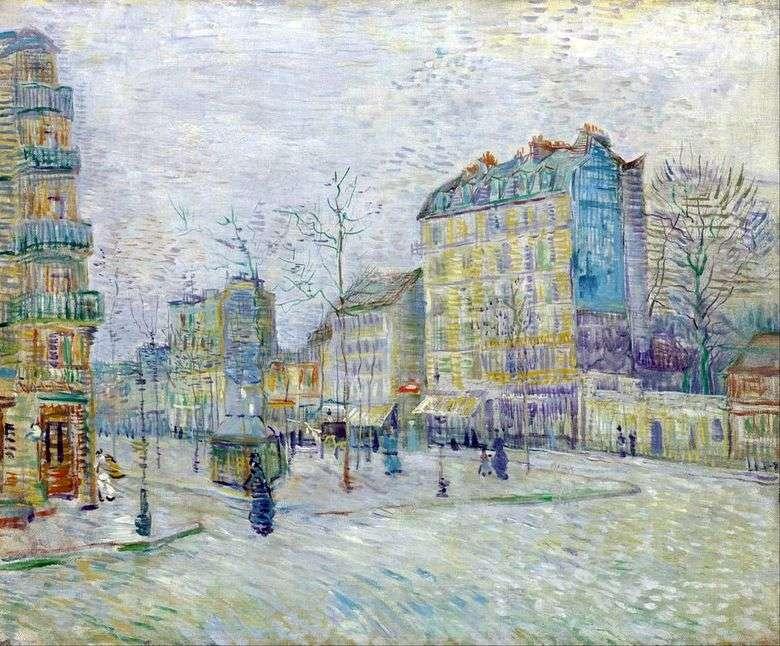 Bulevar Clichy   Vincent Van Gogh