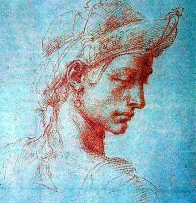 Cabeza perfecta   Michelangelo Buonarroti