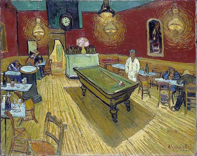 Café nocturno en la Plaza Lamartine en Arles   Vincent Van Gogh