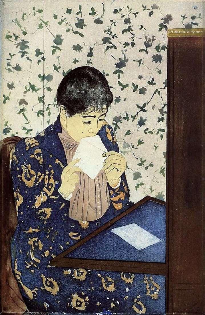 Carta   Mary Cassat