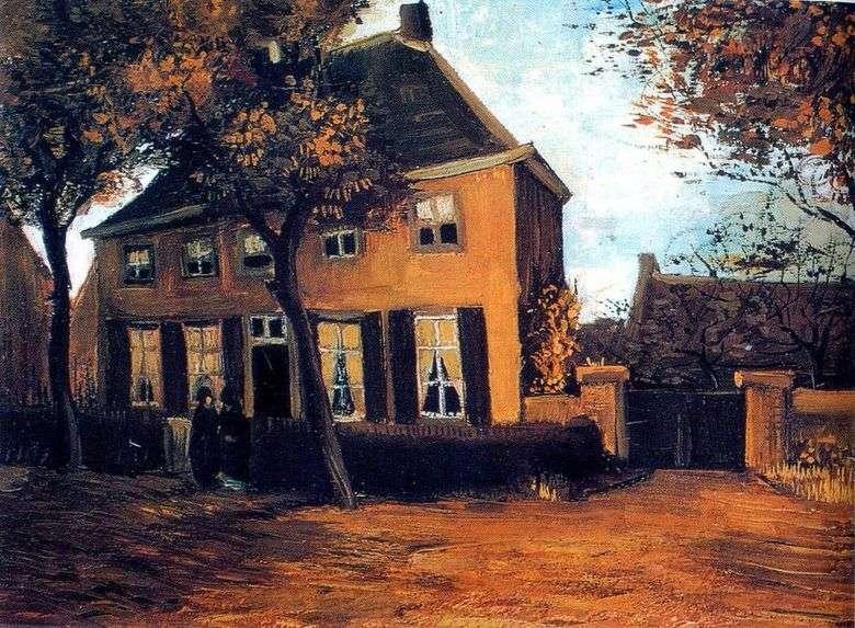 Casa parroquial en Nuenen   Vincent Van Gogh