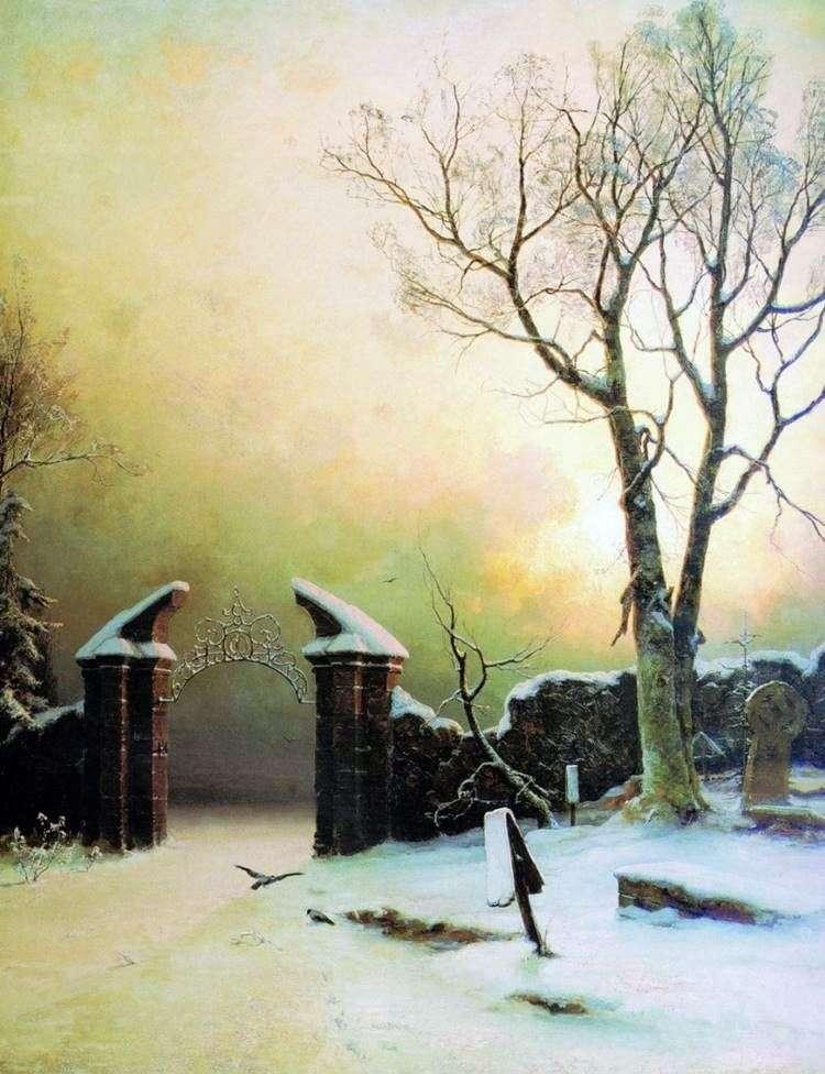 Cementerio olvidado   Julius Clover