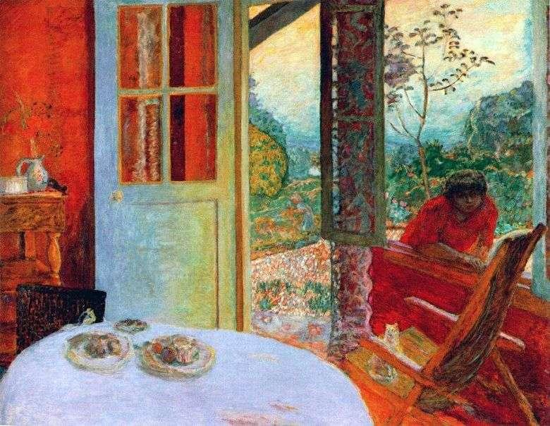 Cenar en una casa de campo   Pierre Bonnard