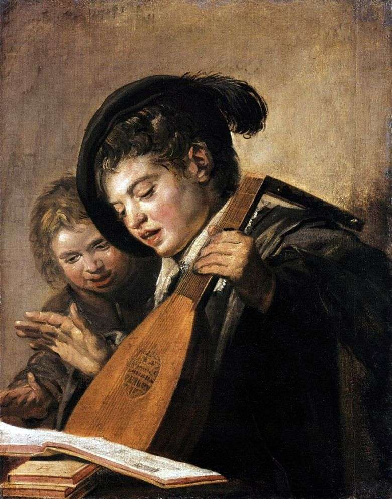 Chicos cantores   Frans Hals