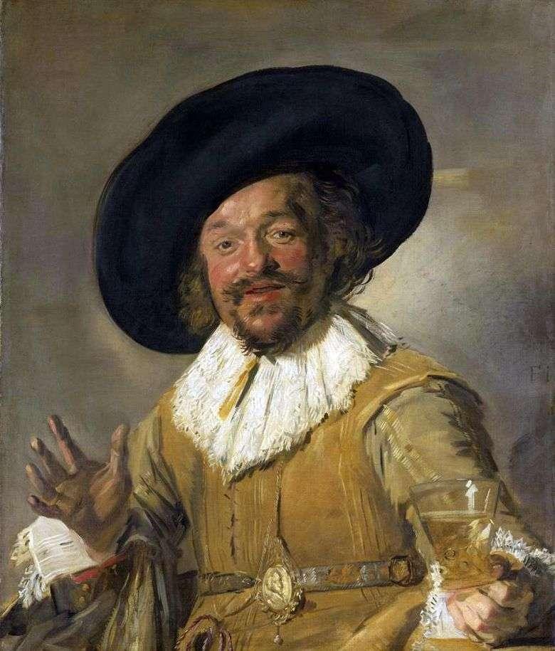 Compañero alegre   Frans Hals
