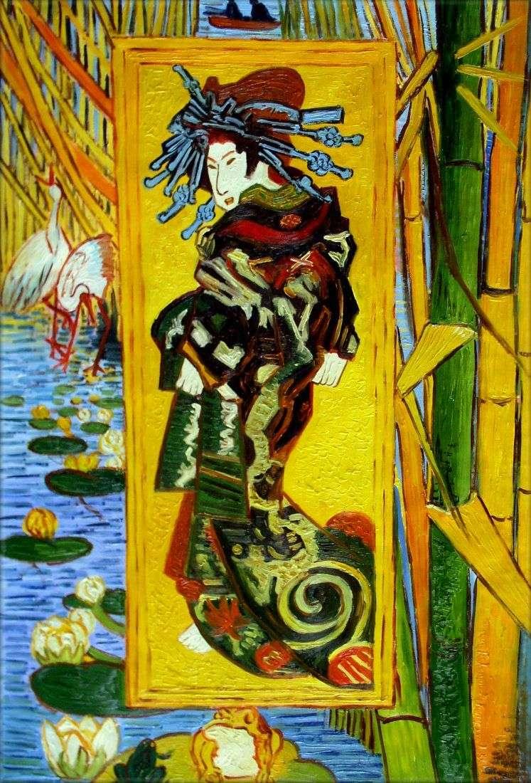 Cortesana   Vincent Van Gogh