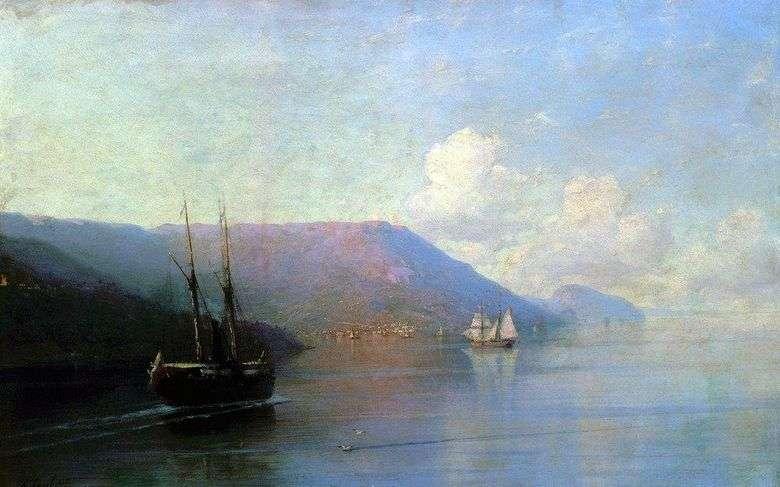 Costa de Crimea   Ivan Aivazovsky
