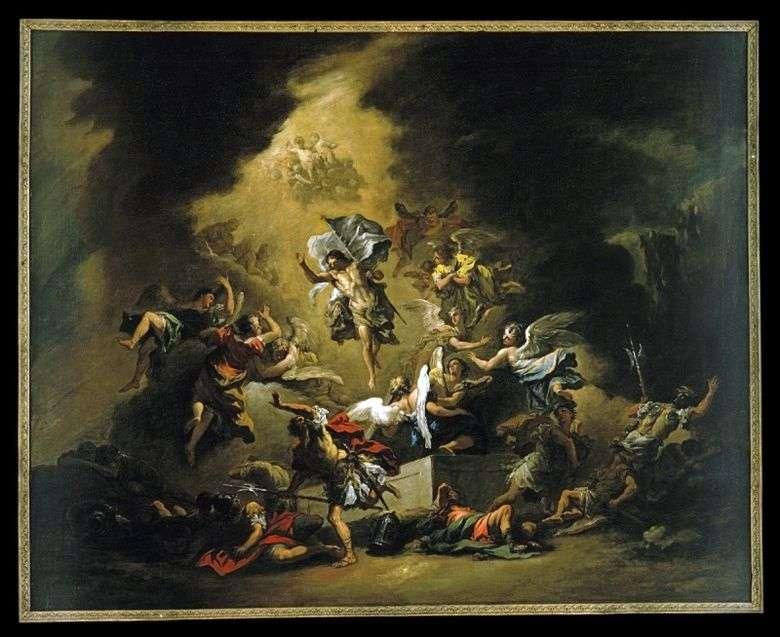 Cristo apareciendo con los ángeles   Sebastiano Ricci