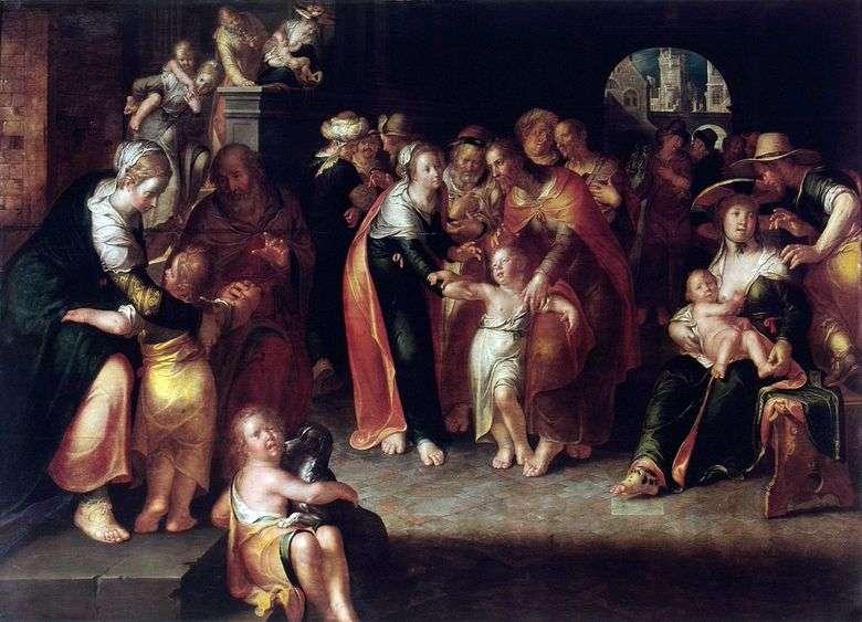 Cristo y los niños   Joachim Eyteval