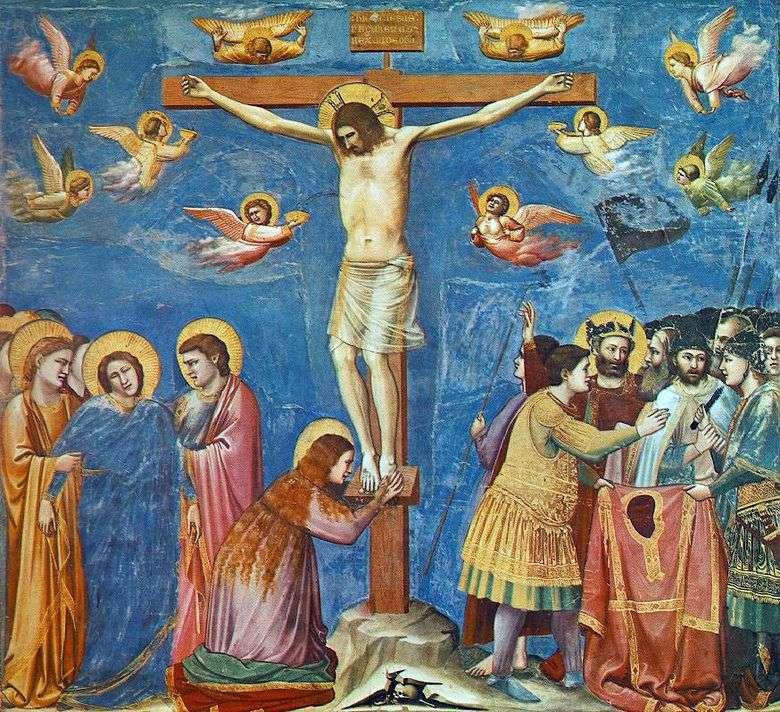 Crucifixión (Cappella del Arena)   Giotto