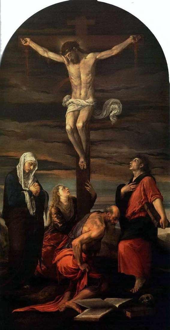 Crucifixión   Jacopo Bassano