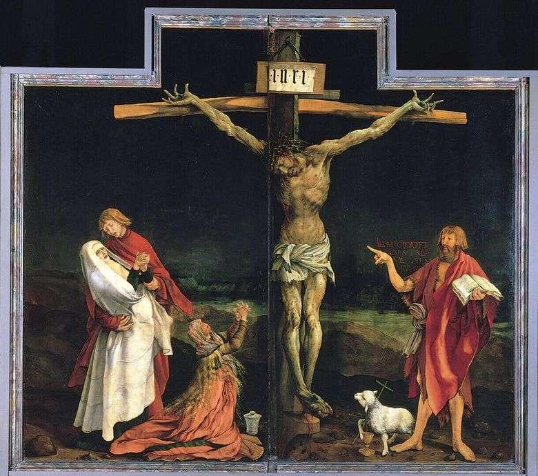 Crucifixión   Matteas Grunewald