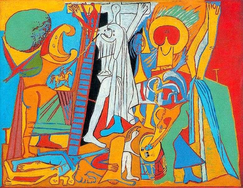 Crucifixión   Pablo Picasso