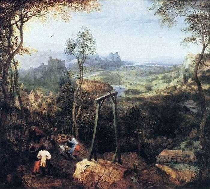 Cuarenta en la horca   Peter Bruegel