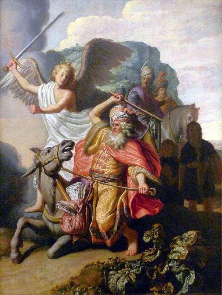 Culo Balaam   Rembrandt Harmens Van Rhine