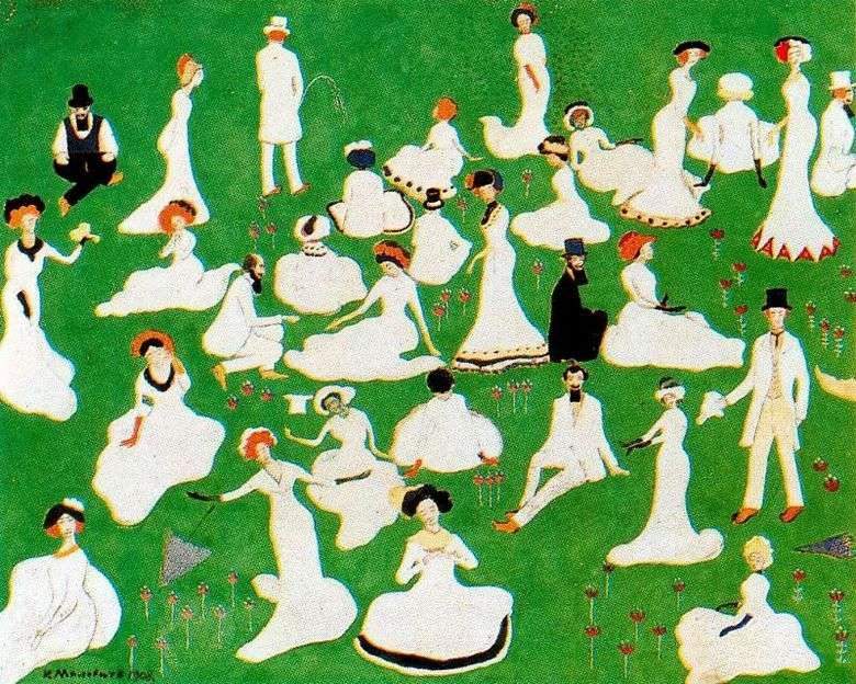Descansar Sociedad en Cilindros   Kazimir Malevich