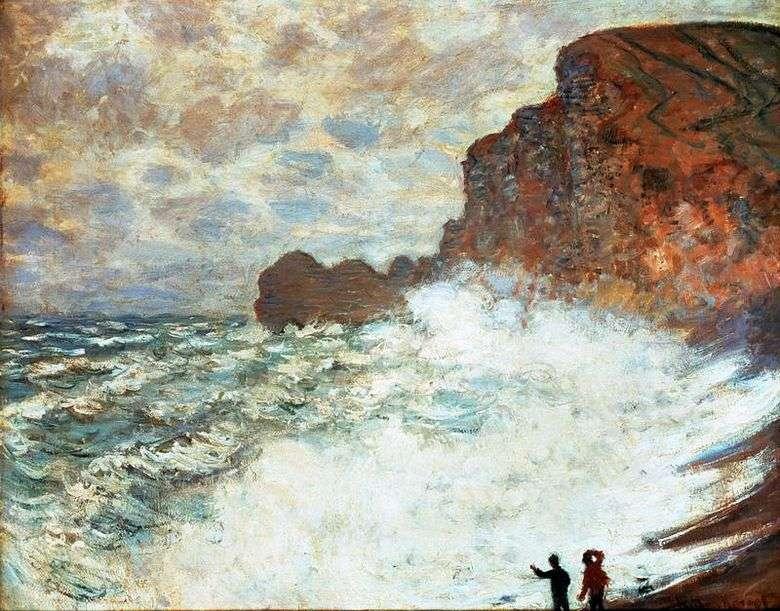 Dia ventosoEtretat   Claude Monet