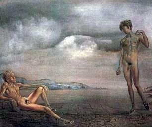 Dos jóvenes   Salvador Dali