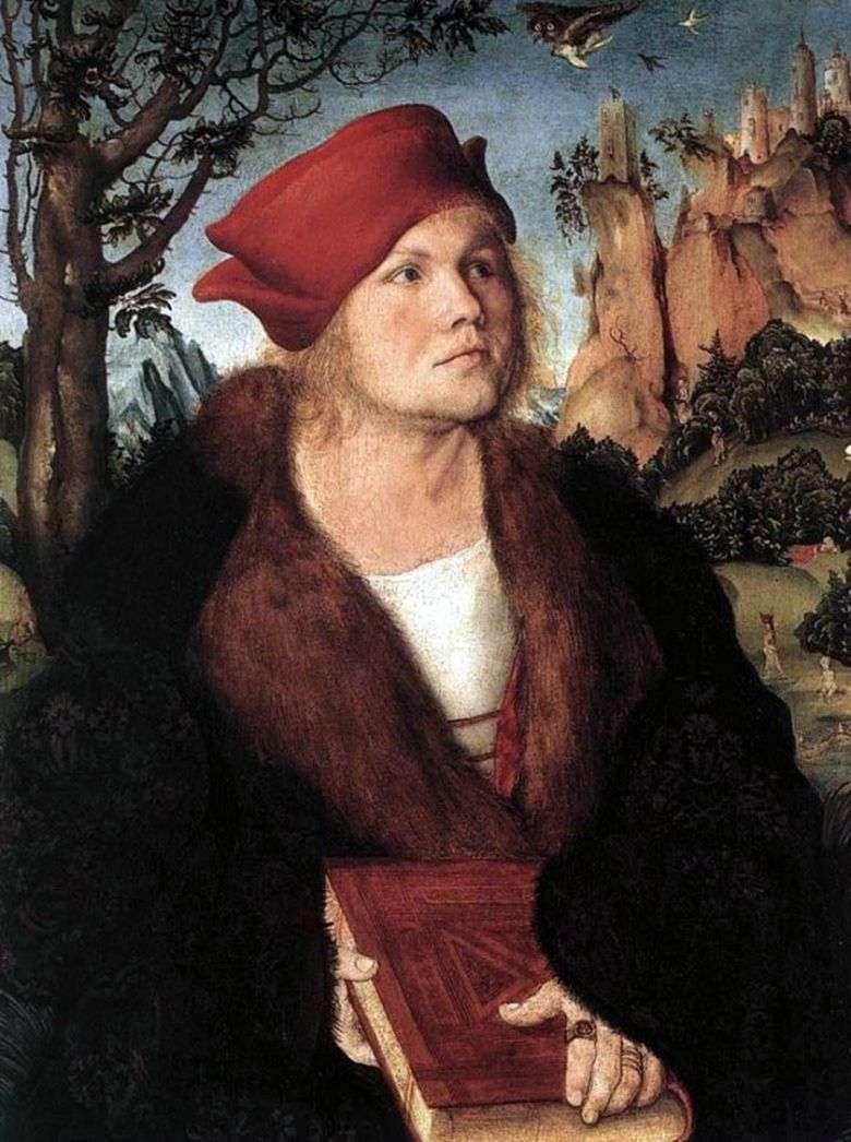 Dr. Johann Kuspinian   Lukas Cranach
